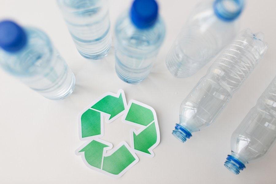 Cómo reciclar el plástico PET